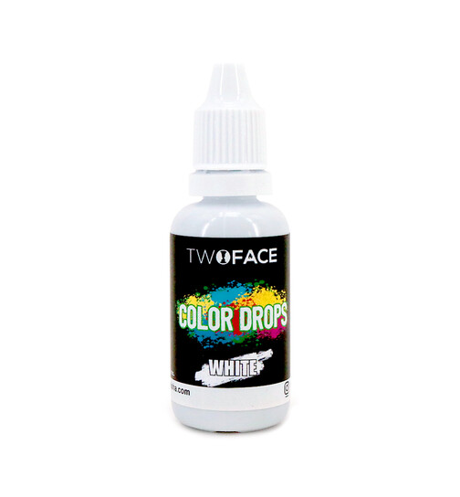 Two Face Color Drops 20ml White