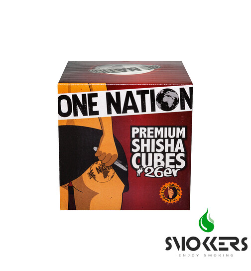 One Nation Cubes natural charcoal 1kg