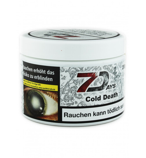7Days Classic Tabak 200g - Cold Death
