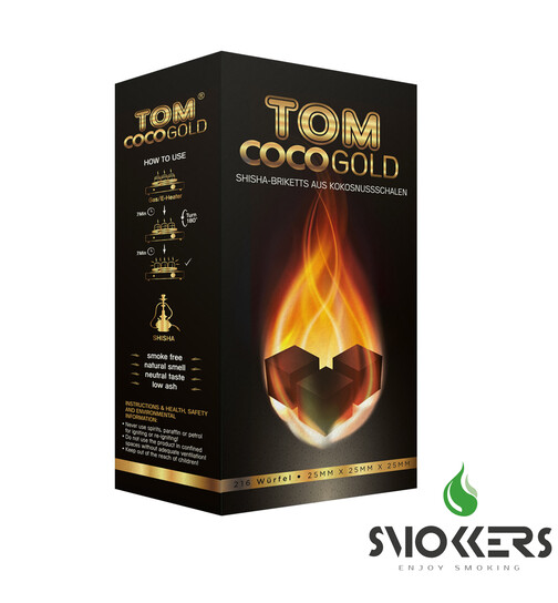 Tom Cococha Gold natural coal 3kg
