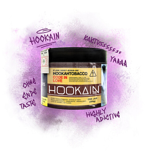 HOOKAIN Tobacco - CODE IN LOVE