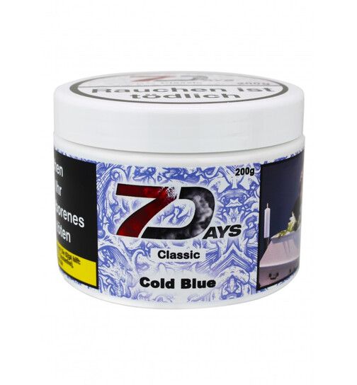 7Days Classic Tabak 200g - Cold Blue