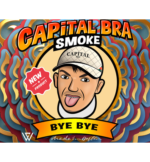 Capital Bra Smoke Tobacco - BYE BYE