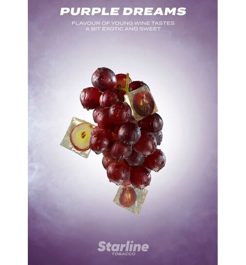 Darkside Tobacco 200g Starline - Purple Dreams