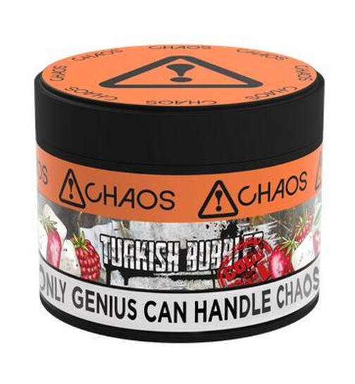 Chaos Tabak 200g - Turkish Bubbles CODE RED