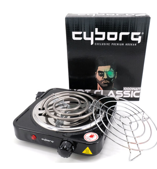 Cyborg Hookah Coal Armor Hot Classic including coal grid...