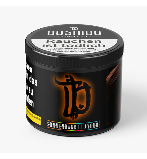 Bushido Tobacco 200g - Tanning bed Flavour