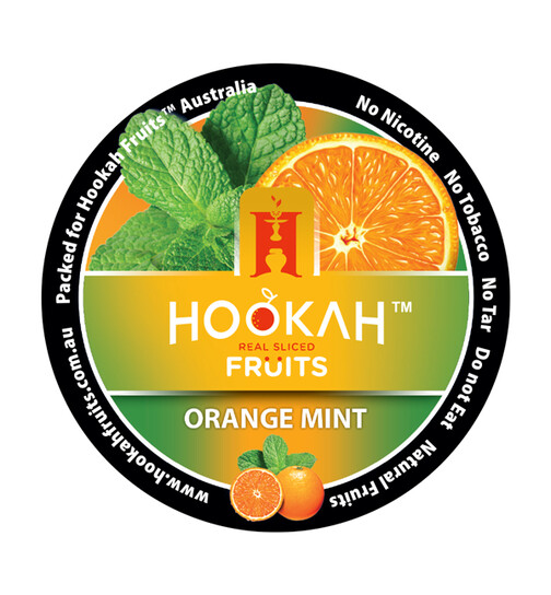 Hookah Fruits 100g - Orange Mint