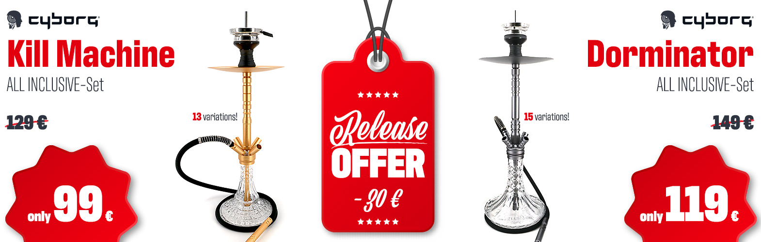Release offer! Kill Machine & Dorminator