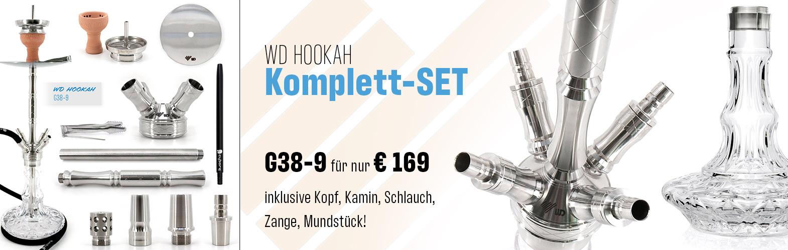 WD Hokkah Komplett-Set