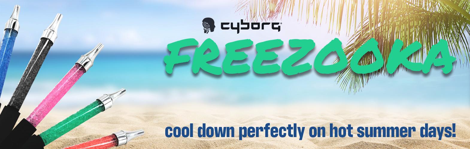 ice mouthpiece cyborg freezooka